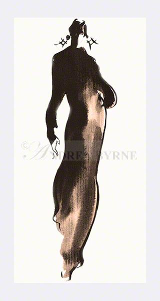 'Sheila' (30cm x 42cm / 11.7″ x 16.5″)