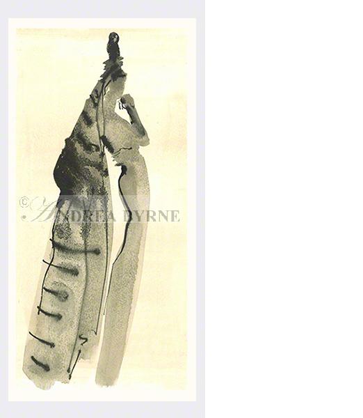 'Mary' (20cm x 42cm / 8