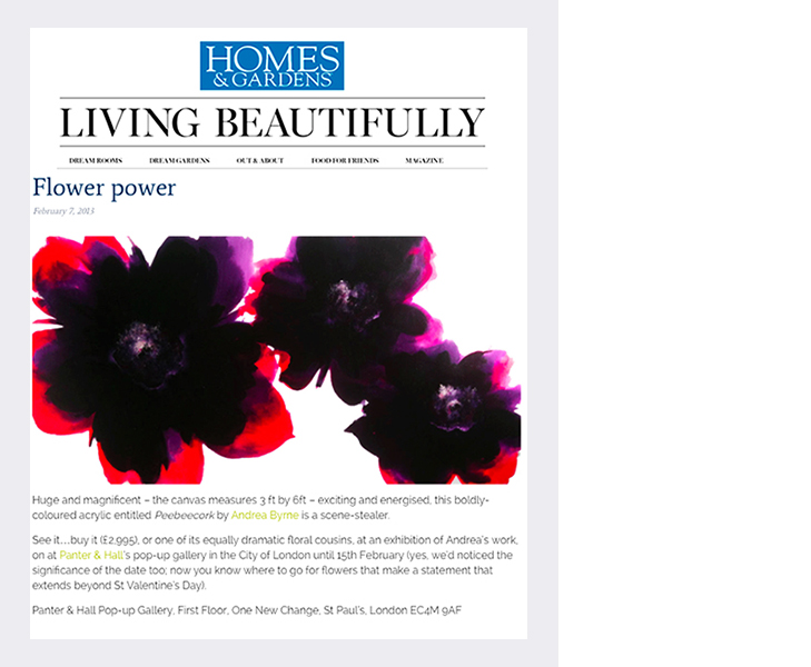 Homes & Gardens magazine (2013)