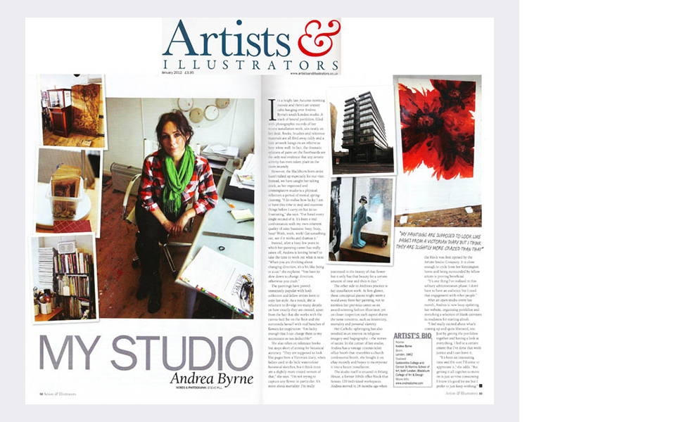 Artists & Illustrators magazine (2012)  (see text link in panel)