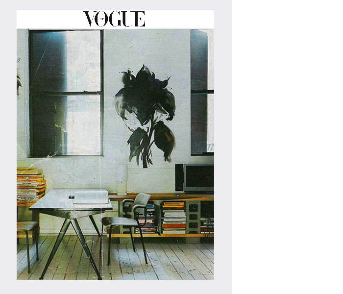 Italian Vogue magazine (Martyn Thompson's apartment) (2005)