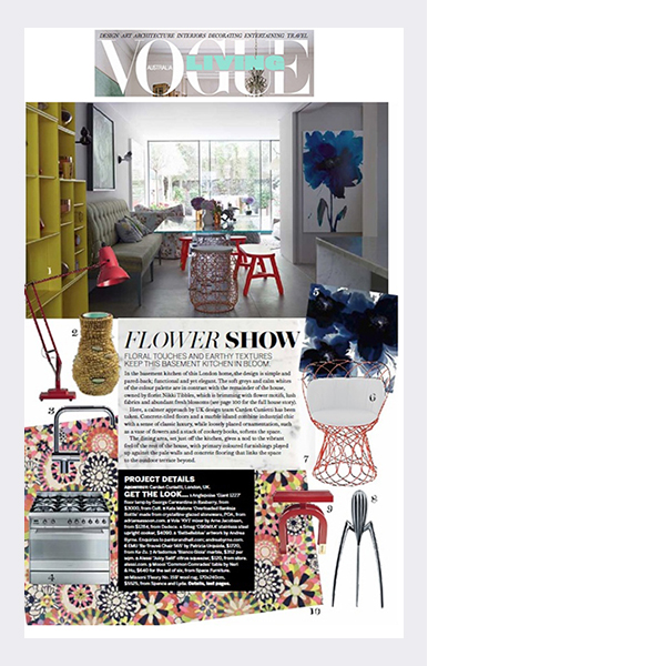 Australian Vogue Living magazine (2014)