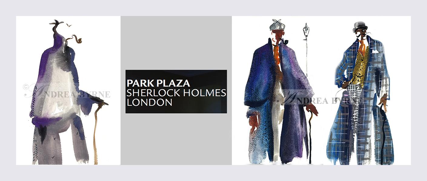 Sherlock Holmes Hotel Baker Street London (Paintings) (2004)