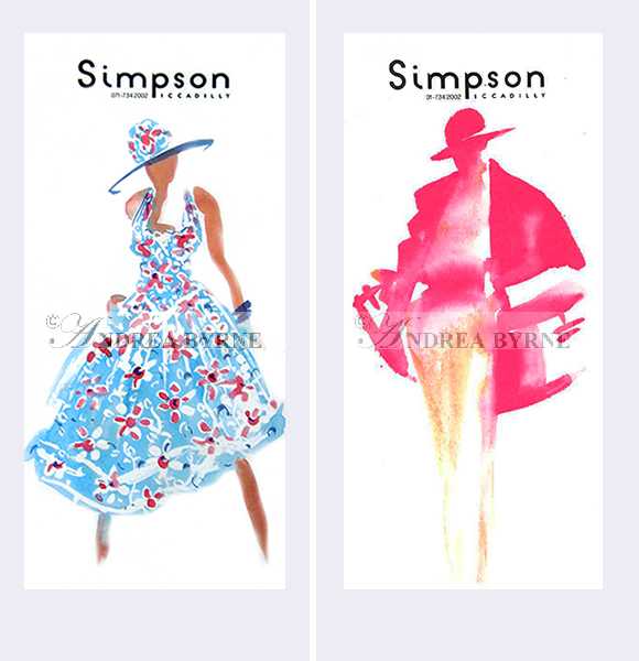 Simpson of Piccadilly (womenswear cards) (1998)