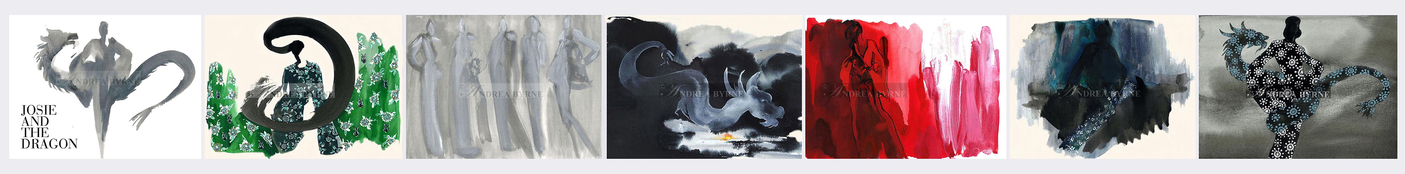 Josie Natori (Josie & The Dragon - book) NY / Coolgrayseven NY (2012)