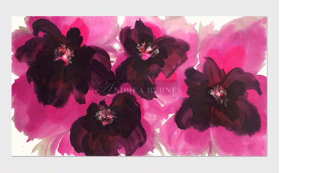 "Furrvalentina (2013) - (40"" x 78"" / 102cm x 198cm)  Acrylic / varnish / canvas."