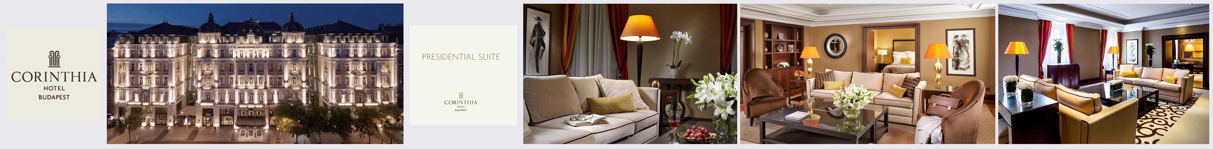 Presidential Suite  Corinthia Hotel Budapest