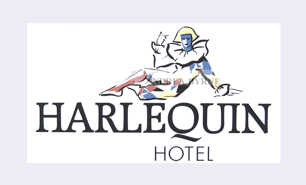 Raymond Loewy International / Harlequin Hotels identity (1990's)