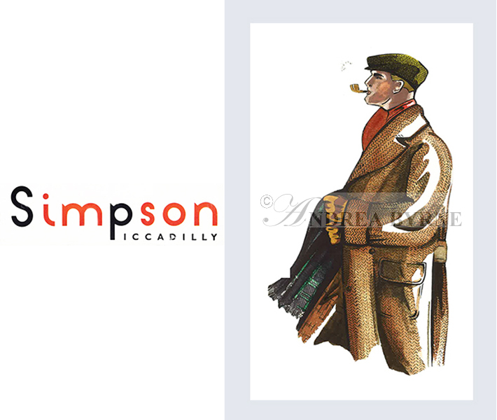 Simpson of Piccadilly  (menswear card) (1990's)