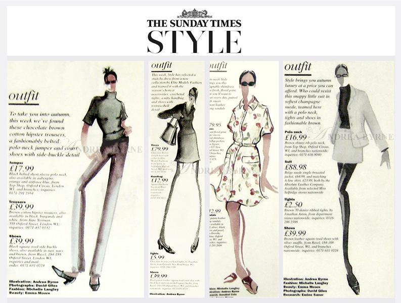 Sunday Times Style magazine (1990's)