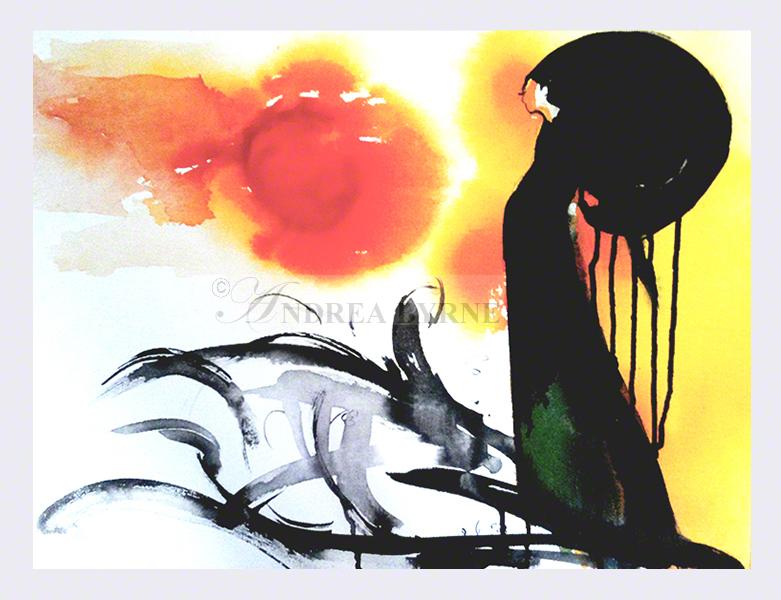 'Solange' (60cm x 84cm / 23.5″ x 33″)