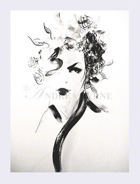 'Prudence' (30cm x 42cm / 11.7″ x 16.5″)